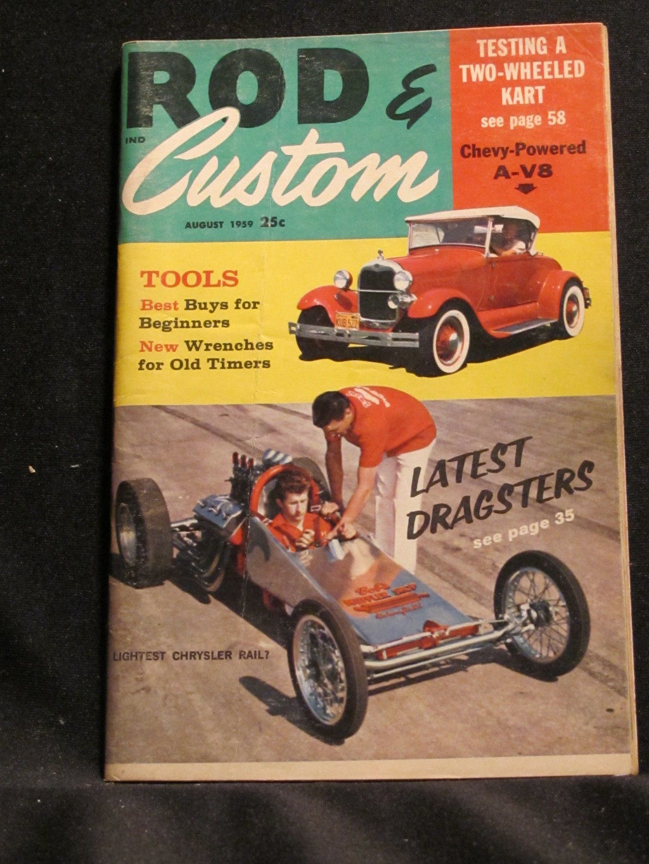 Rod & Custom Magazine August 1959
