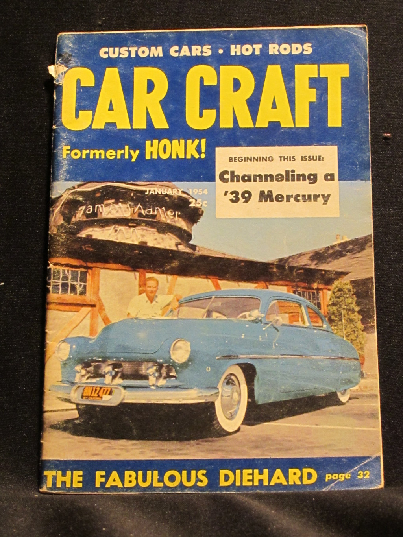 Car Craft Magazine January 1954