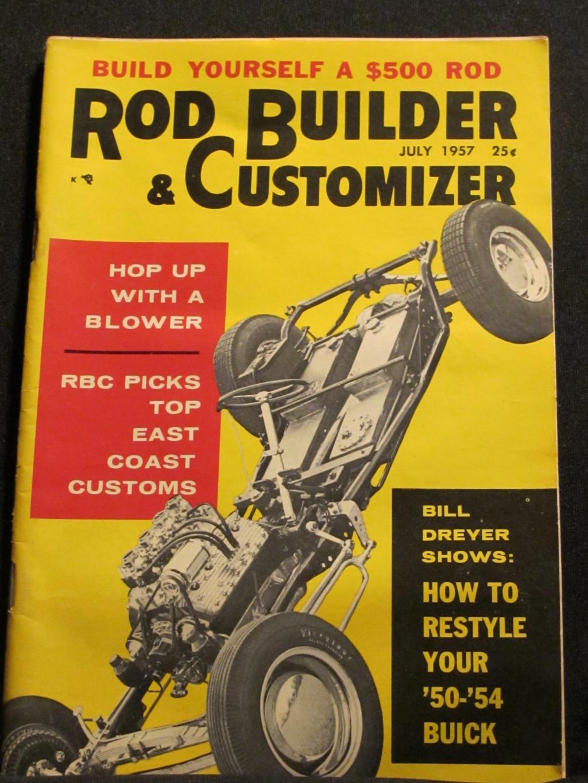 Rod Builder & Customizer Magazine July 1957