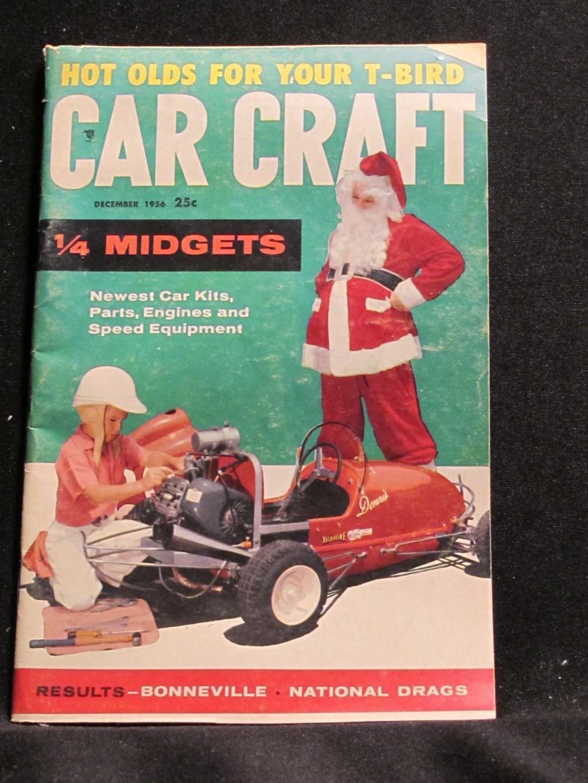 Car Craft Magazine December 1956