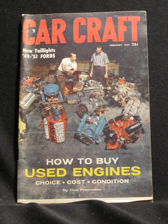 Car Craft Magazine February 1957