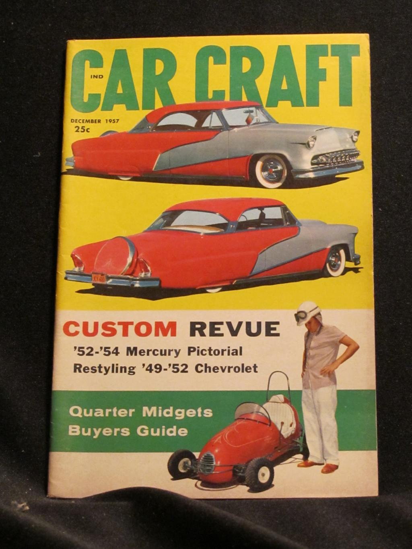 Car Craft Magazine December 1957