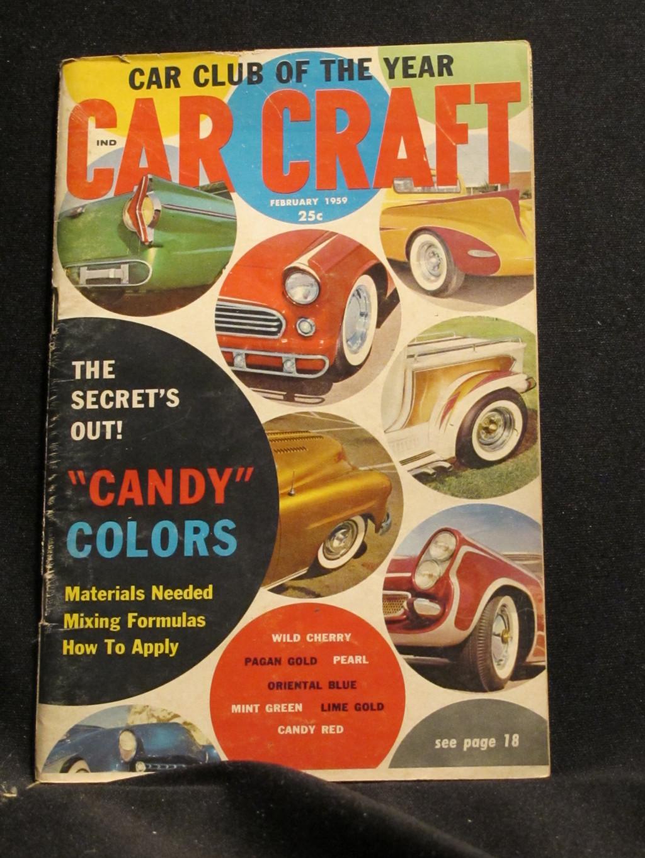 Car Craft Magazine February 1959