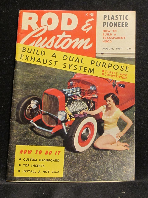 Rod & Custom Magazine August 1954