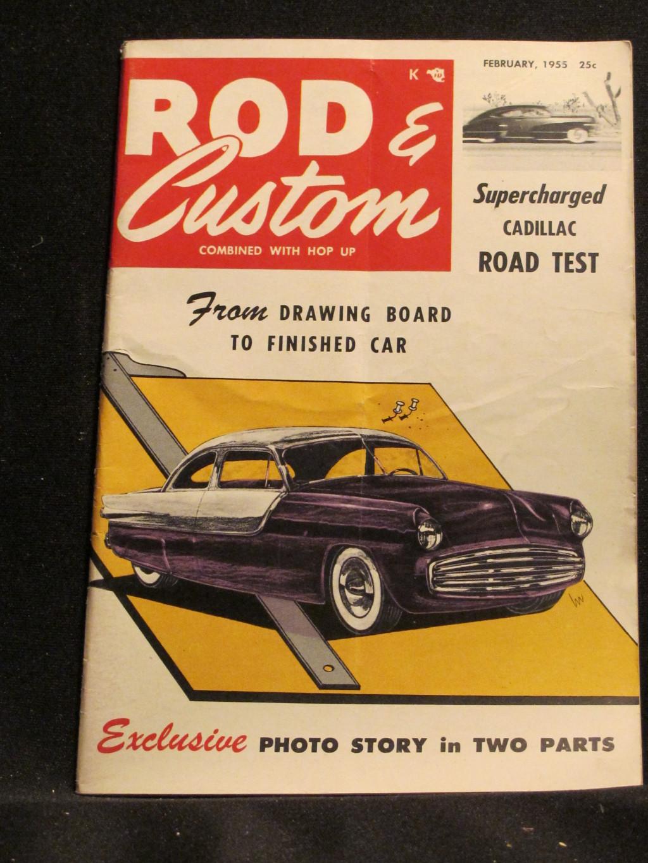 Rod & Custom Magazine January 1955