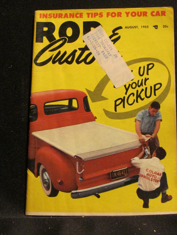 Rod & Custom Magazine August 1955