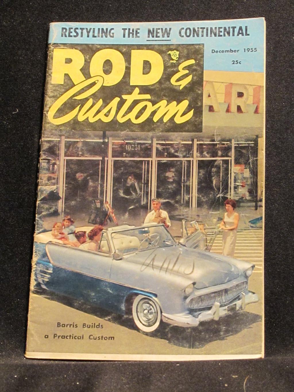 Rod & Custom Magazine December 1955