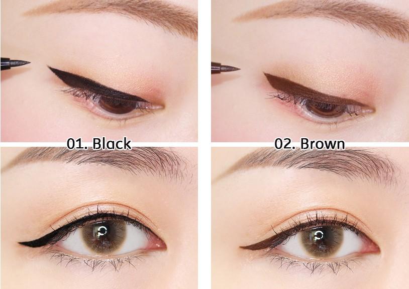 Movie Star One Stroke Pen Eyeliner Detail