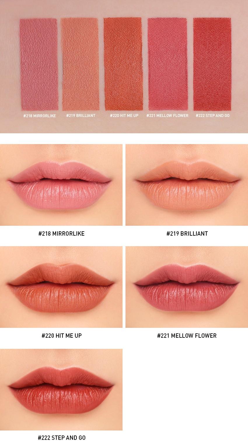 MOOD RECIPE Lip Color Mini Kit 2 Detail