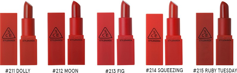 RED RECIPE Lip Color Mini Kit Componenets