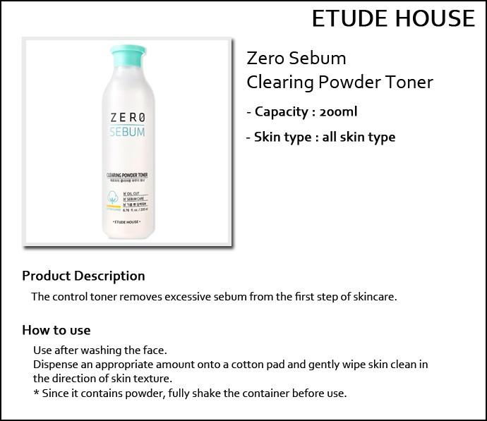 etude house zero sebum white sebum clear