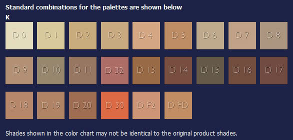 Kryolan Professional Make Up Dc Camouflage Cream Palettes 24