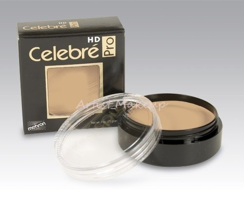 Mehron Celebre HD Pro Quality Stage Theater Film Foundation Cream Makeup