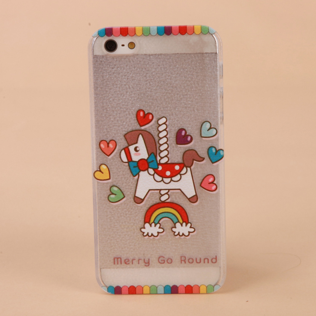 "Cover Copertura Modellato Fumetto Duro Caso Per iPhone 4S 5S 6 4.7 ""Plus 5.5"""