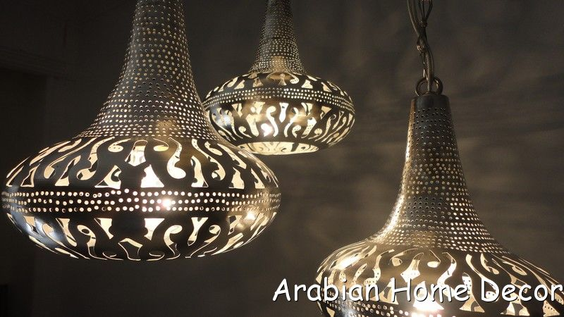 Moroccan 3 in 1 Pendant Chandelier Lamp - Ceiling Light Fixture