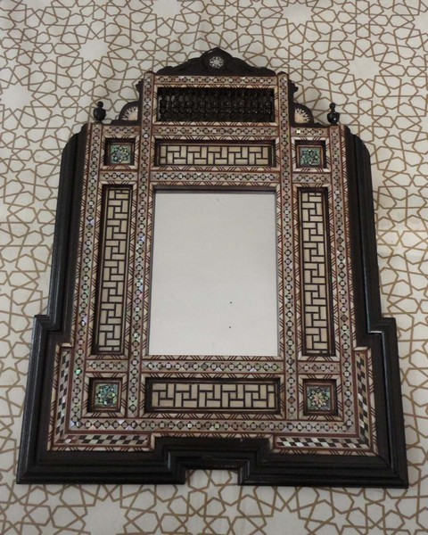 Unique Moroccan Home Decor Mother Of Pearl Inlaid Wood