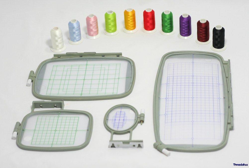 used pe770 embroidery machine