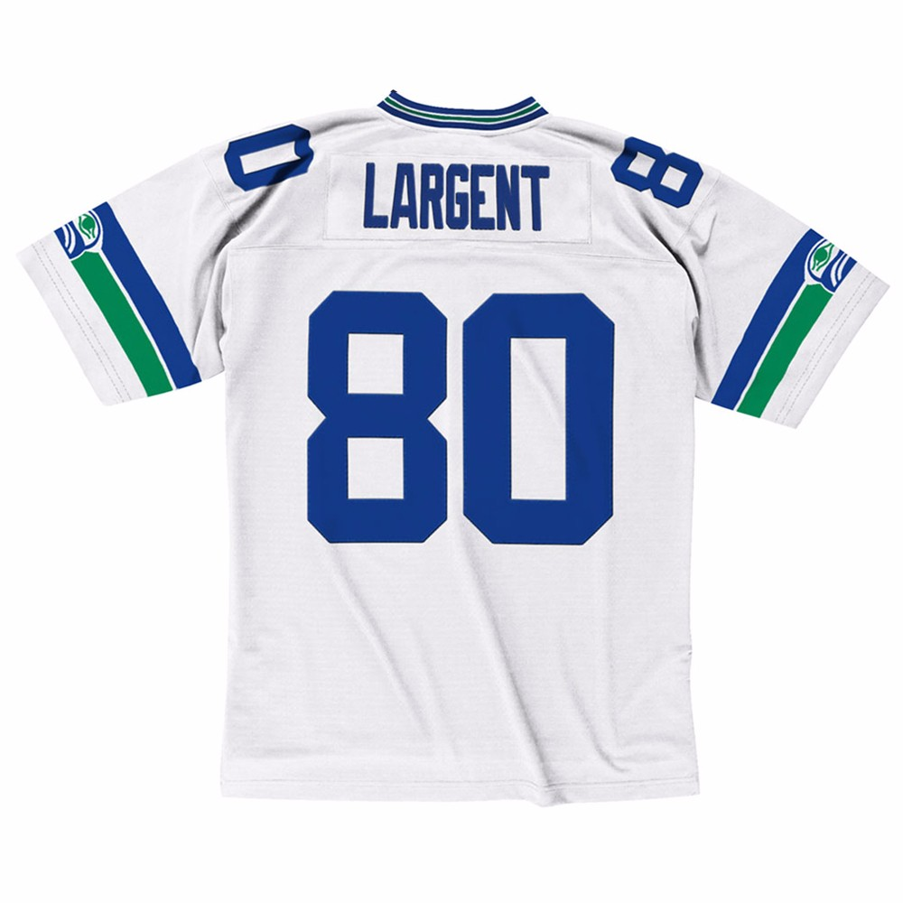 NFL-Mitchell-amp-Ness-Throwback-Player-Road-White-Legacy-Jersey-Collection-Men-039-s thumbnail 68