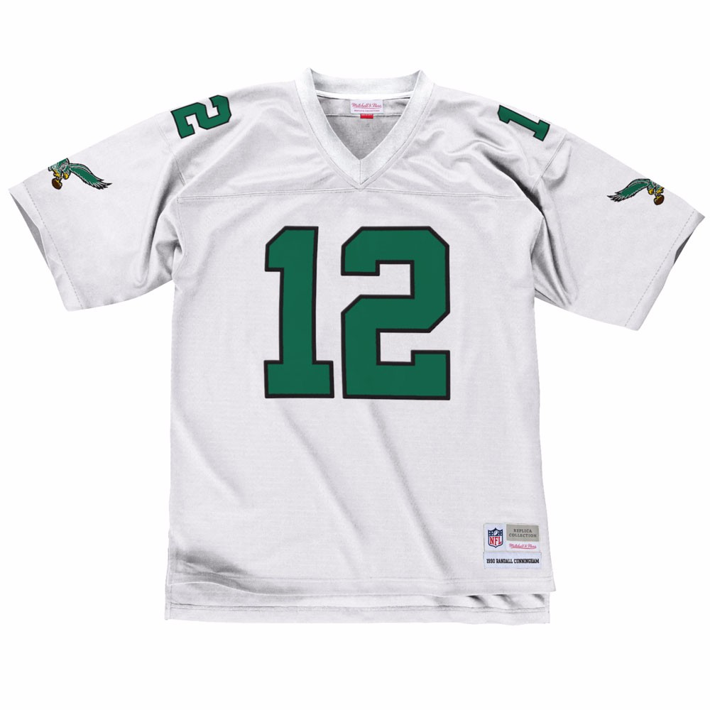NFL-Mitchell-amp-Ness-Throwback-Player-Road-White-Legacy-Jersey-Collection-Men-039-s thumbnail 52