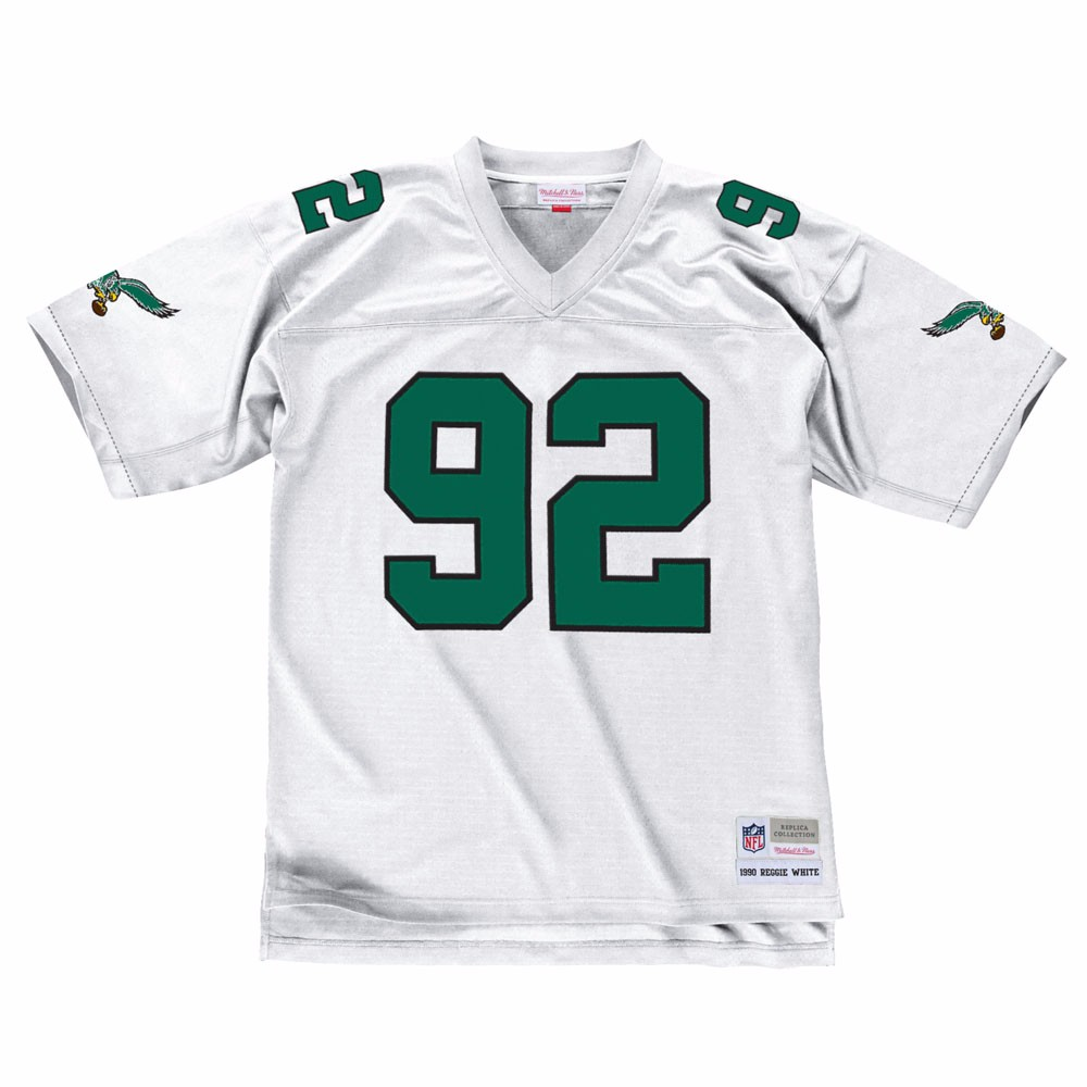 NFL-Mitchell-amp-Ness-Throwback-Player-Road-White-Legacy-Jersey-Collection-Men-039-s thumbnail 57