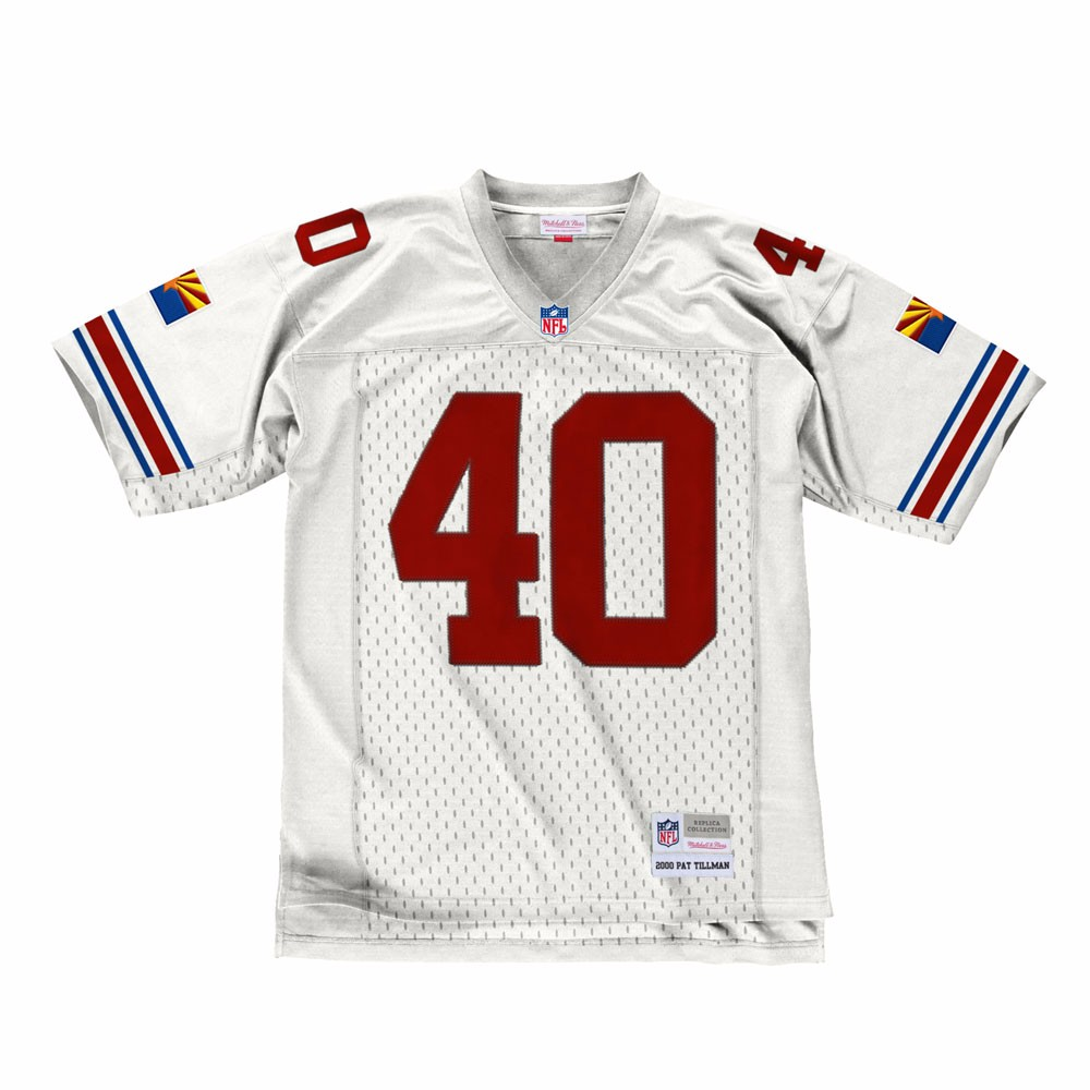 NFL-Mitchell-amp-Ness-Throwback-Player-Road-White-Legacy-Jersey-Collection-Men-039-s thumbnail 46