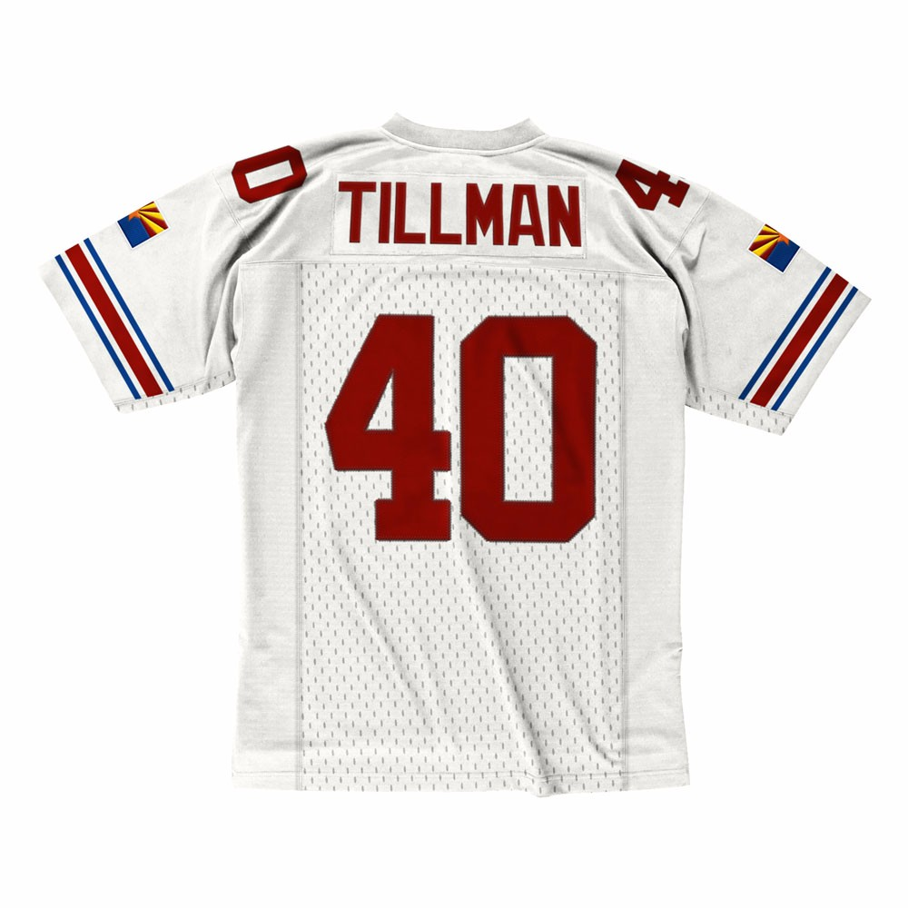NFL-Mitchell-amp-Ness-Throwback-Player-Road-White-Legacy-Jersey-Collection-Men-039-s thumbnail 45