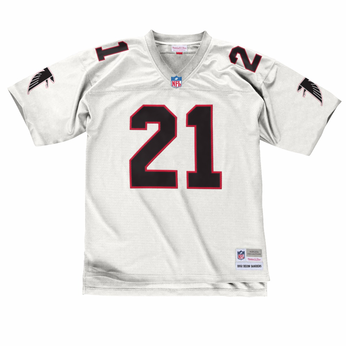 NFL-Mitchell-amp-Ness-Throwback-Player-Road-White-Legacy-Jersey-Collection-Men-039-s thumbnail 19