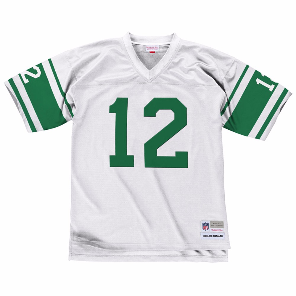 NFL-Mitchell-amp-Ness-Throwback-Player-Road-White-Legacy-Jersey-Collection-Men-039-s thumbnail 34