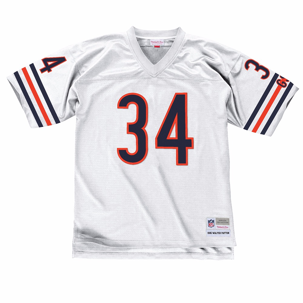 NFL-Mitchell-amp-Ness-Throwback-Player-Road-White-Legacy-Jersey-Collection-Men-039-s thumbnail 81