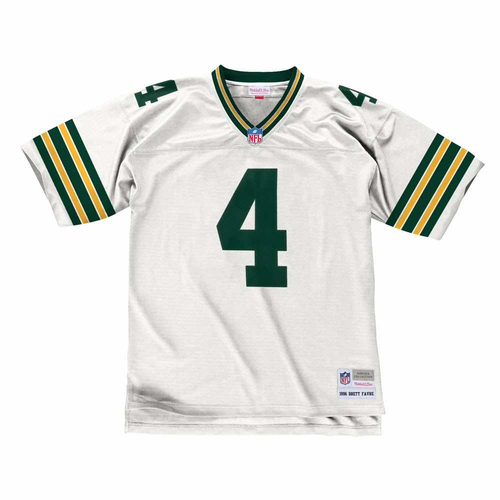 NFL-Mitchell-amp-Ness-Throwback-Player-Road-White-Legacy-Jersey-Collection-Men-039-s thumbnail 12