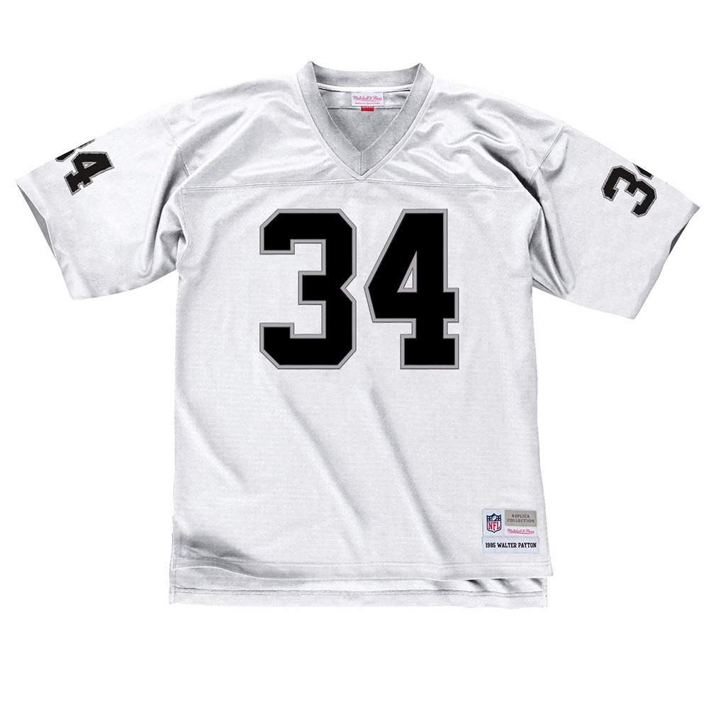 NFL-Mitchell-amp-Ness-Throwback-Player-Road-White-Legacy-Jersey-Collection-Men-039-s thumbnail 9