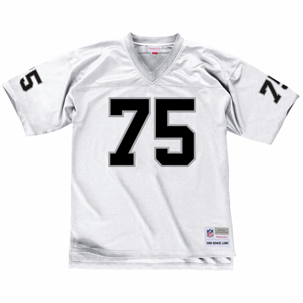 NFL-Mitchell-amp-Ness-Throwback-Player-Road-White-Legacy-Jersey-Collection-Men-039-s thumbnail 21