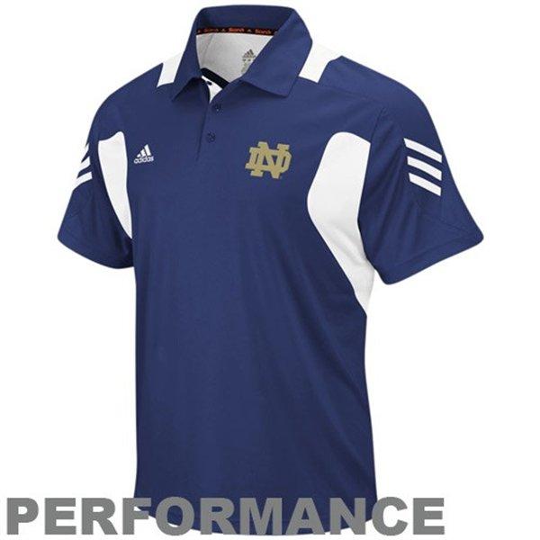 Notre Dame Fighting Irish Adidas ClimaLite Scorch Performance Polo Men