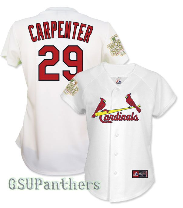 Chris Carpenter 2011 St Louis Cardinals World Series Home Womens