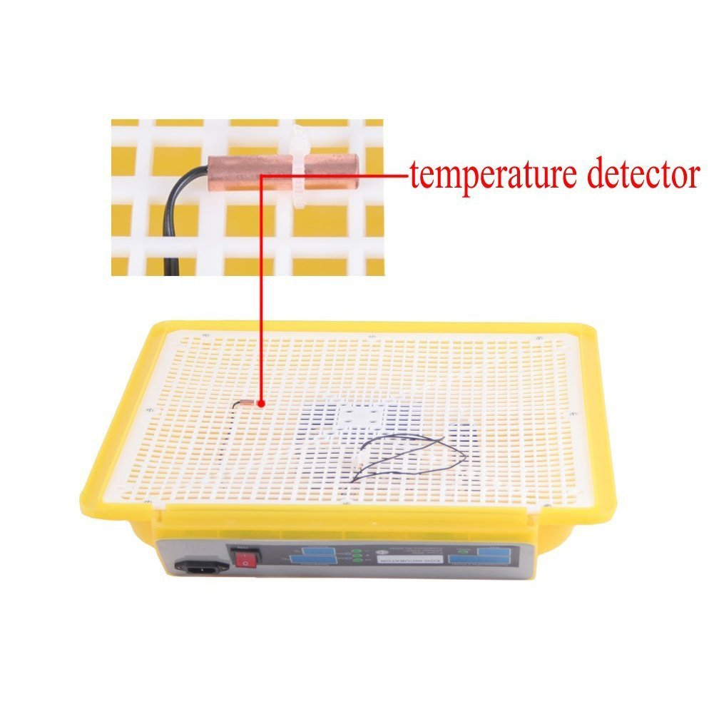 48 Eggs Poultry Chicken Duck Bird Digital Fully Automatic Egg Incubator Turner