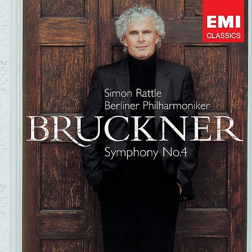 ANTON-BRUCKNER-Symphony-No-4-CD-NEW-Berliner-Philharmoniker-Simon-Rattle