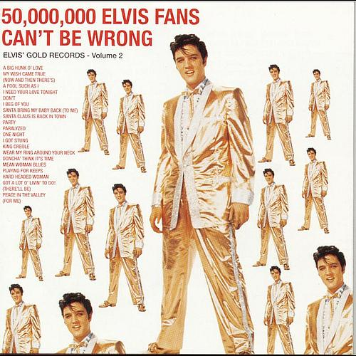 ELVIS-PRESLEY-50-000-000-Fans-Cant-Be-Wrong-Gold-Records-Volume-2-CD-NEW