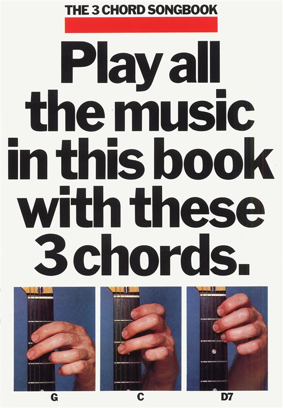 3-Chord-Songbook-Book-1-Guitar-NEW-Music-Lyrics-Inc-Beatles-Elvis-Presley