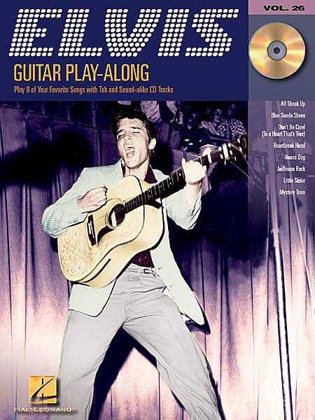 Guitar-Play-Along-Volume-26-Elvis-TAB-Book-and-CD-NEW-Presley-Sheet-Music