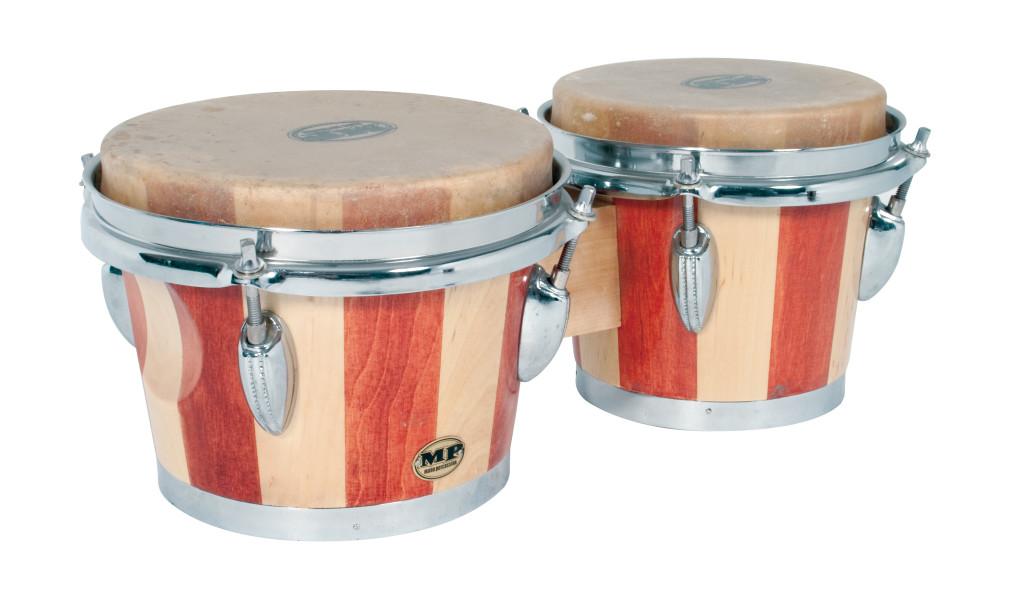 Mano percussion bongo drums new bongos tunable quot skin