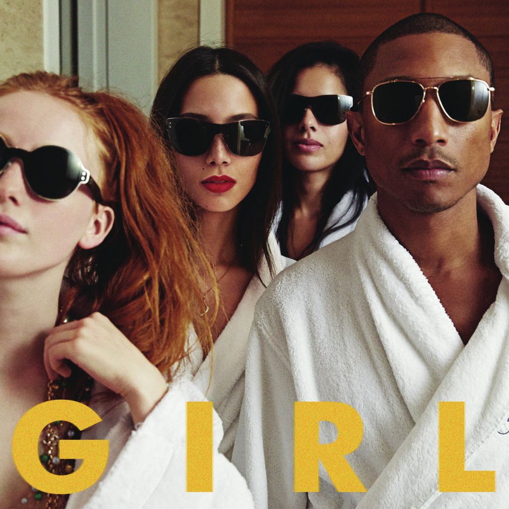PHARRELL-WILLIAMS-Girl-CD-NEW-Ft-Alicia-Keys-Happy-Marilyn-Monroe