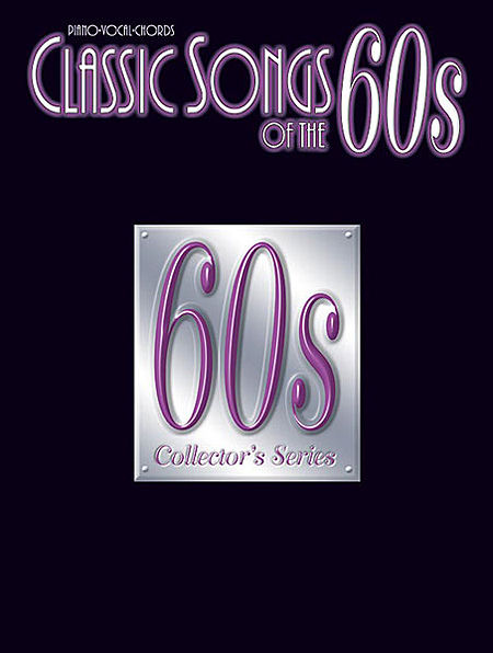 Classic-Songs-Of-The-60s-Various-PVG-Book-NEW-Sheet-Music-Piano-Guitar
