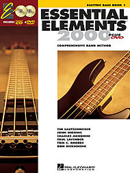 ESSENTIAL-ELEMENTS-2000-Plus-Electric-Bass-Book-1-NEW-Inc-Play-Along-CD-DVD