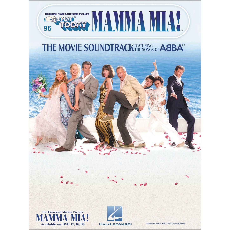 Abba Piano Sheet Music Easy: E Z Play Today 96 Mamma MIA THE Movie Soundtrack NEW Abba