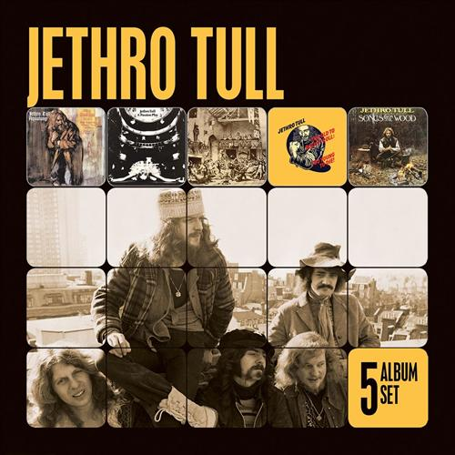 JETHRO-TULL-5-Album-Set-5CDs-NEW-Aqualung-A-Passion-Play-plus-3-other-CDs
