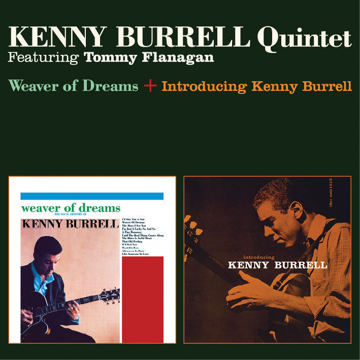 KENNY-BURRELL-QUINTET-Weaver-Of-Dreams-Introducing-Kenny-Burrell-CD-NEW