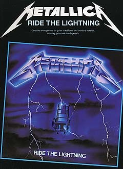 METALLICA-Ride-The-Lightning-Guitar-TAB-Book-NEW-Music-Songbook-Tablature