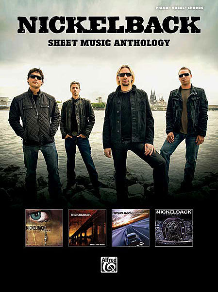 Nickelback-Sheet-Music-Anthology-PVG-Book-NEW-Piano-Vocal-Guitar-Best