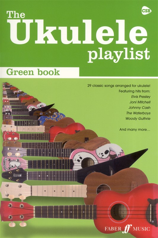 The-Ukulele-Playlist-Green-Book-NEW-Sheet-Music-29-Songs-Inc-Elvis-Presley