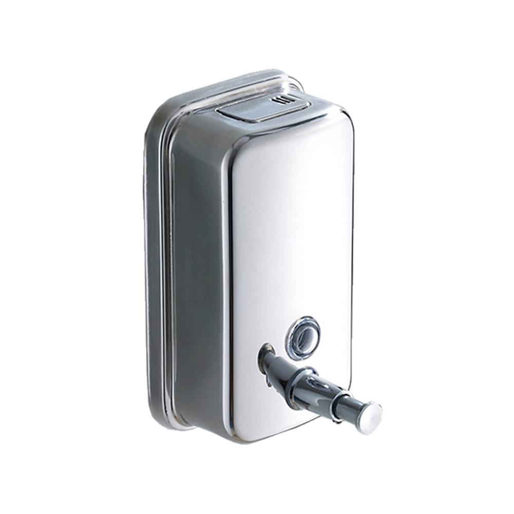 Seifenspender Dusche Edelstahl : Seifenspender Wand Dusche : rund f?r Haushalt und Bad Seifenspender